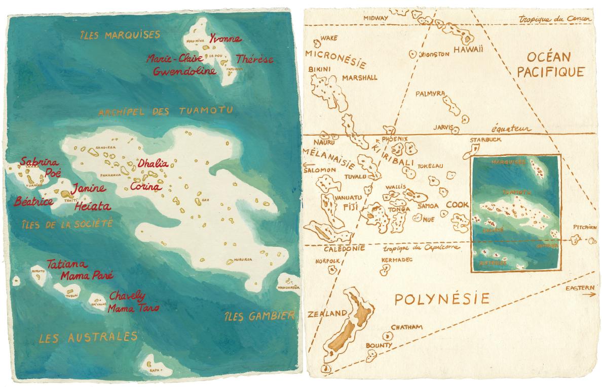 01 - Polynésie - Titouan Lamazou - 80 x 120