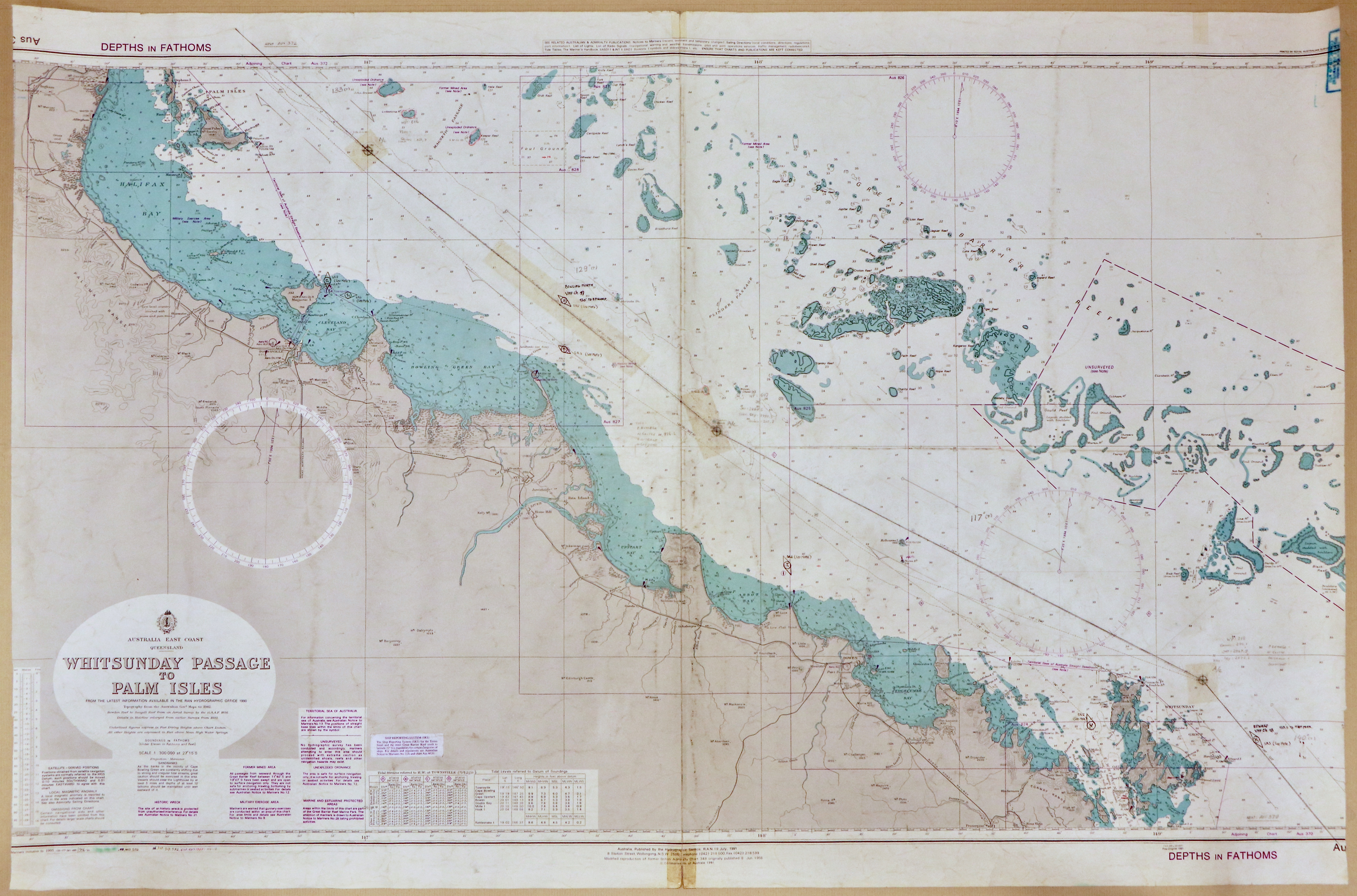 30 - Whitsunday Passage to Palm Isles