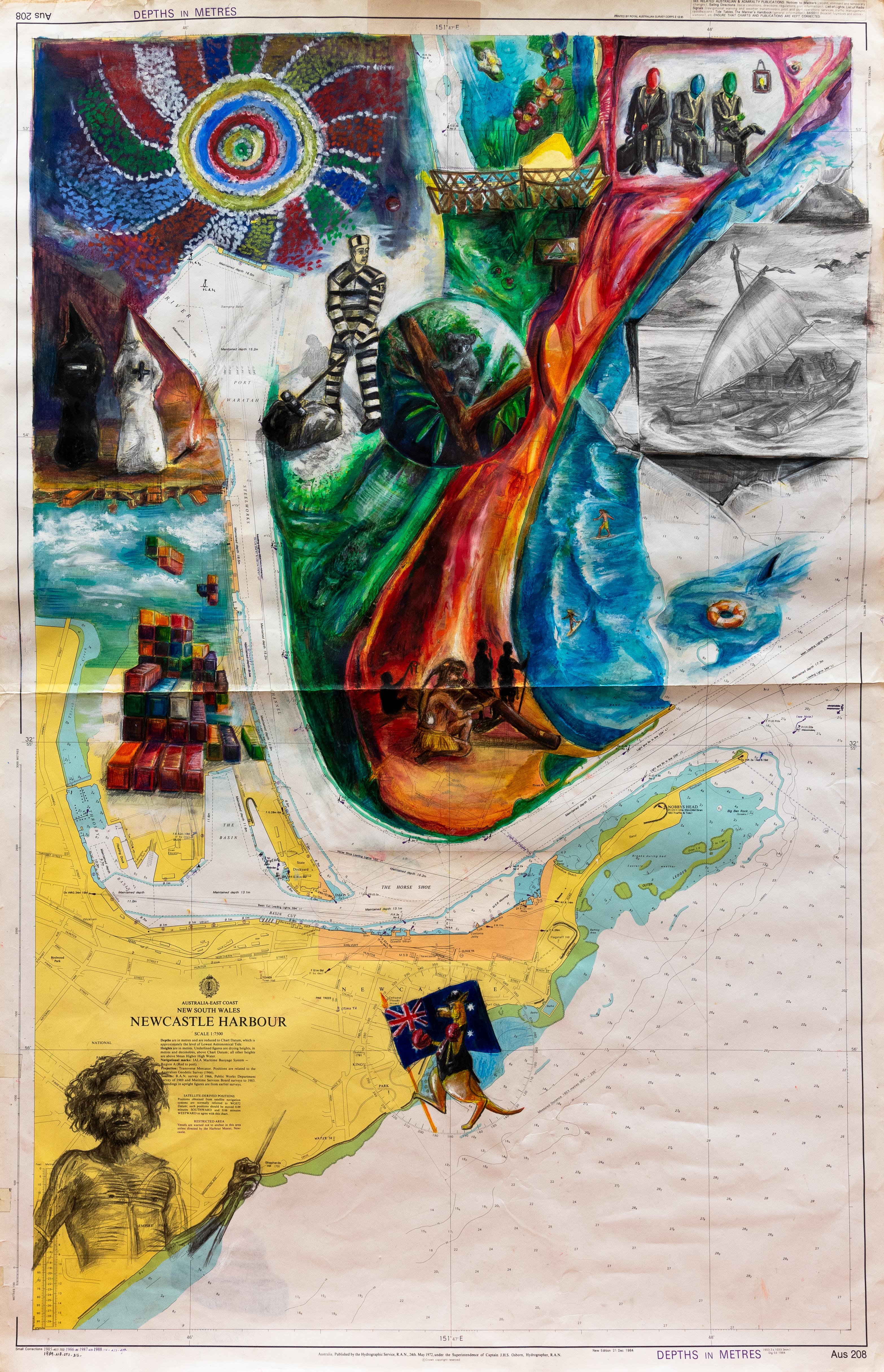 Carte n°17 - Alexandre le Quément - Terra Australis
