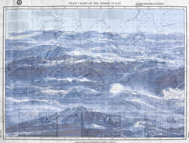 78 / Indian Ocean Pilot Chart / Benoit Stichelbaut