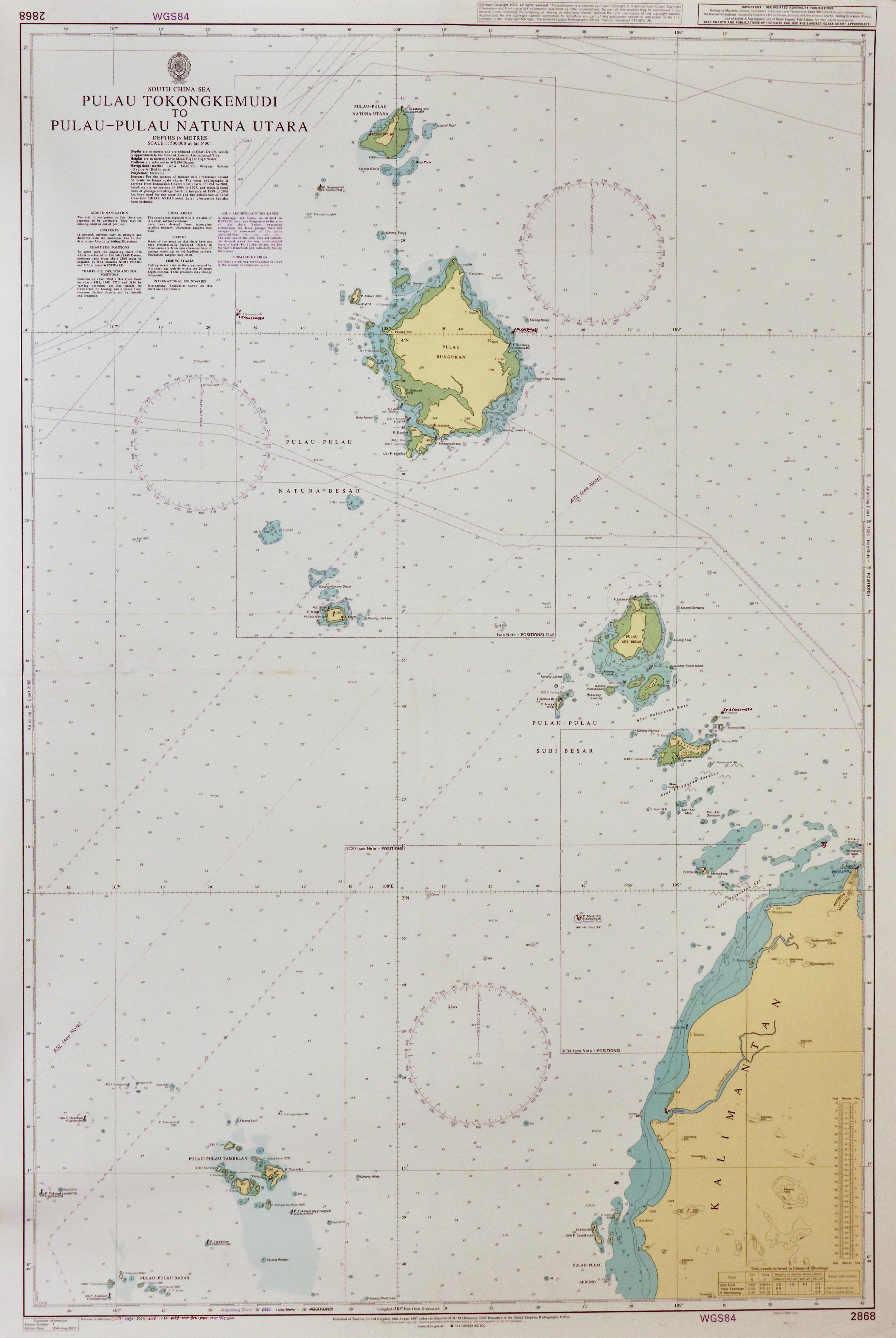 25 - Pulau Tokongkemudi to Pulau Pulau Natuna Utara