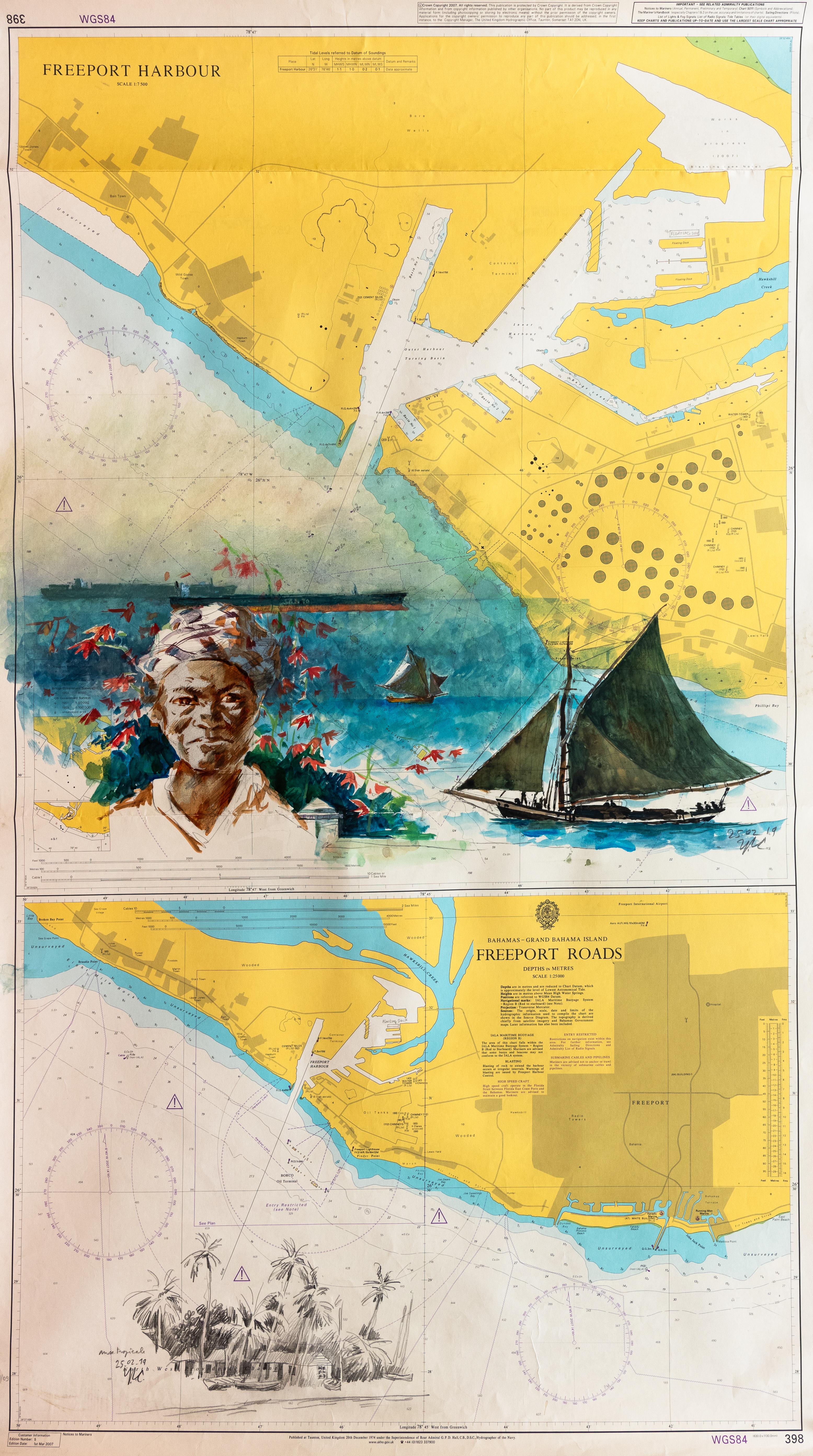 Carte n°58 - Yvon Le Corre - Anse Tropicale